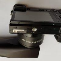 Sony α6000 mit HD Adapter