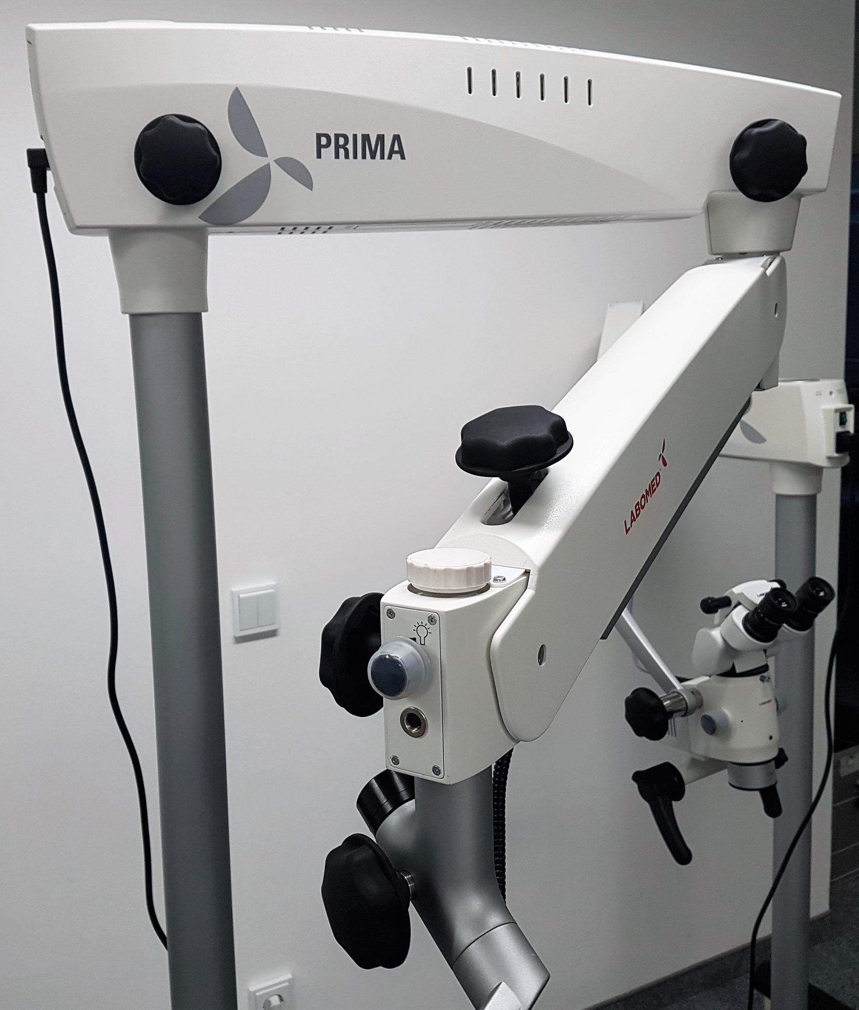 Foto Dentalmikroskop Prima