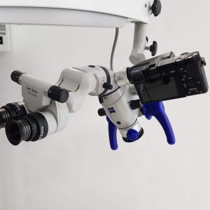 Foto vom OPMI-Mikroskop