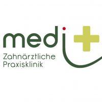 Logo der Praxisklinik medi+