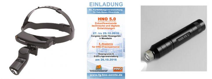 Neue Produkte vom HNO Kongress 2016 Mannheim